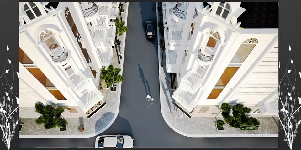 Các tuyến đường phía trong dự án Lam sơn Lý Bôn - cạnh bến xe thành phố
