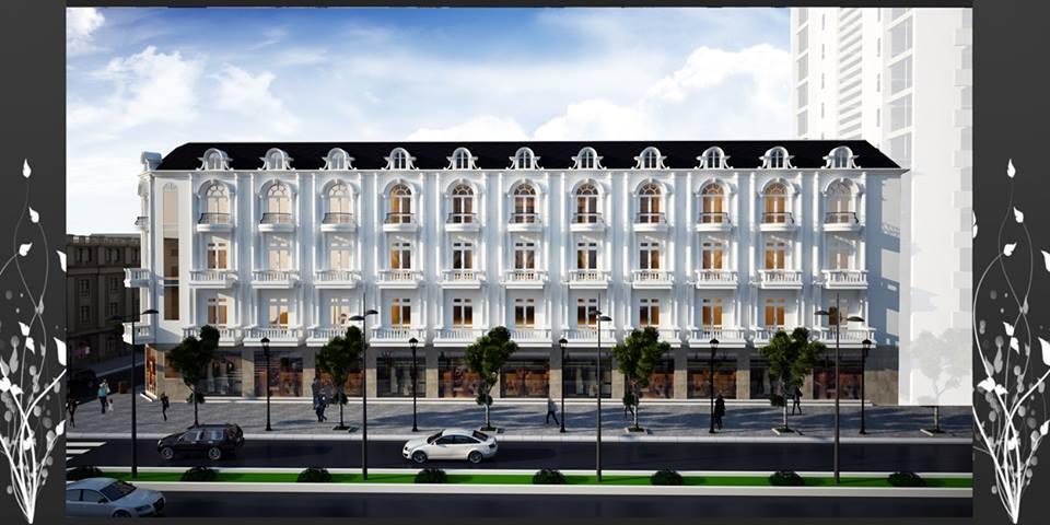 Kiến trúc đồng bộ tại Dự án Lam sơn Lý bôn- Cạnh bến xe thành phố